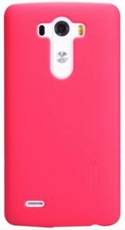 Nillkin Super Frosted Shield для LG G3 D855/D856 Red