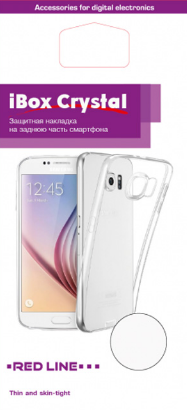 Red Line Ibox Crystal для Samsung Galaxy S8 Plus G955FD Transparent