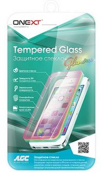 Onext 0.3mm для Samsung Galaxy S7 G935F/G935FD Edge 3D с рамкой Gold