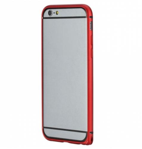 Rock металлический Arc Slim Guard series для Iphone 6 Red