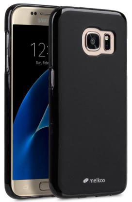 Melkco Poly Jacket TPU Case для Samsung Galaxy S7 Edge G935F/G935FD Black Mat