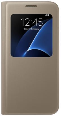Samsung EF-CG935PFEGRU для Galaxy S7 Edge G935F/G935FD Gold