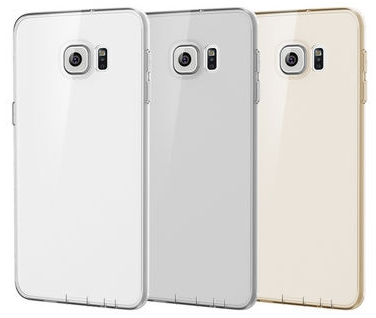 Rock Ultrathin Slim Jacked для Samsung Galaxy S6 Edge Plus G928F Transparent/Black