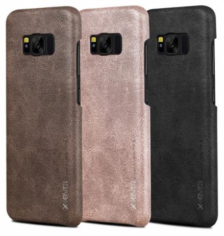 X-Level кожаная Vintage для Samsung Galaxy S8 Plus G955FD Black