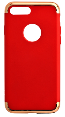 Red Line Soft Touch iBox Element для Iphone 7 Plus золотистая рамка Red