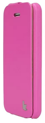 JISONCASE Fashion Flip Case для iPhone 5c Pink