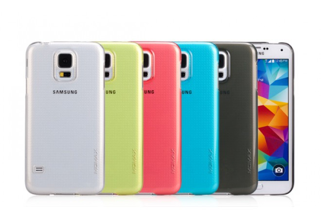 Momax Hello! for Samsung Galaxy S5 Yellow