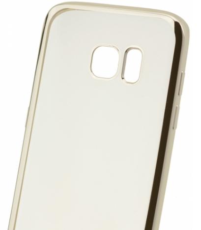 Celly Laser для Samsung Galaxy S7 Edge G935F/G935FD Transparent/Gold