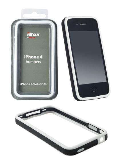 Red Line для IPhone 4 IBox 011 белый с металлическими кнопками