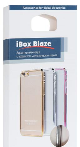 Red Line Ibox Blaze для Samsung Galaxy S8 Plus G955FD серебристая рамка