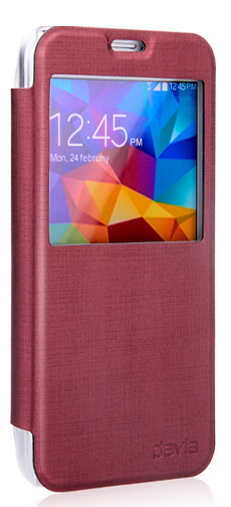Devia Luxuri Series для Samsung Galaxy S5 G900 Red