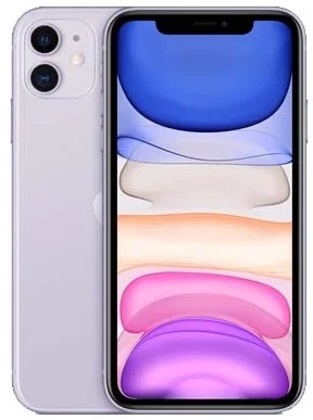 Apple iPhone 11 256GB Dual-Sim (A2223) Purple