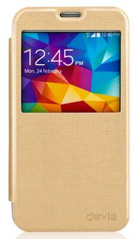 Devia Luxuri Series для Samsung Galaxy S5 G900 Gold