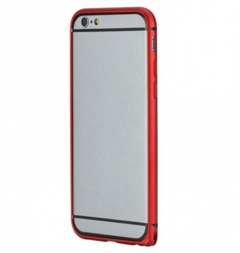 Rock металлический Arc Slim Guard series для Iphone 6 Red