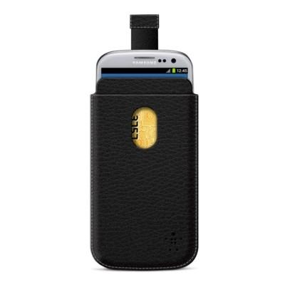 Belkin Кожаный F8M410CWC00 Samsung i9300/i9305 Black