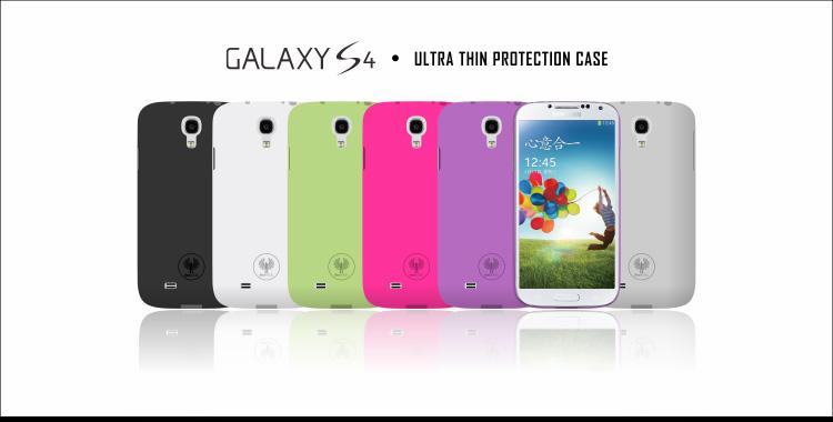 Red Angel Ultraslim для Samsung Galaxy S4 I9500 Черный
