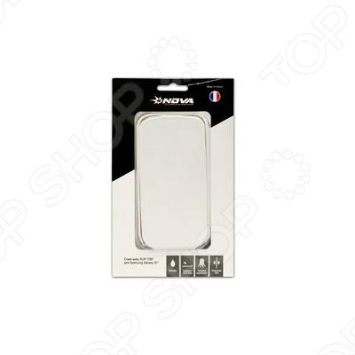 NOVA для Samsung Galaxy I9300 белая кожа flip-TOP