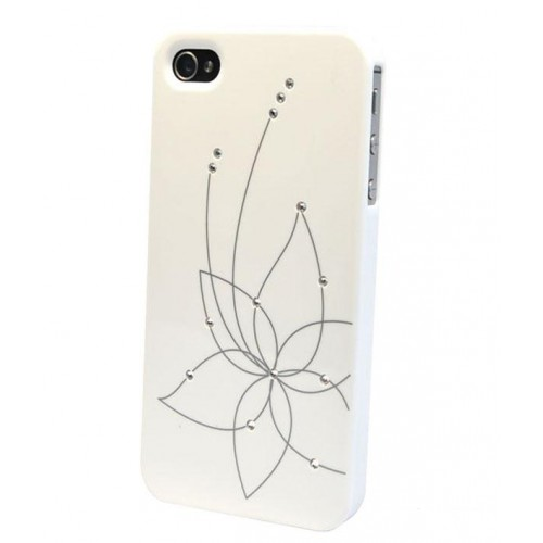 iCover для iPhone 5C Swaroski New Design SW13 IPM-SW13-W White