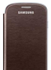 Flip Cover для SAMSUNG GALAXY S4 I9500/ I9505 без окна Brown