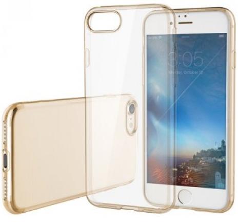 Rock Ultrathin Slim Jacked для Iphone 7 Transparent/Gold