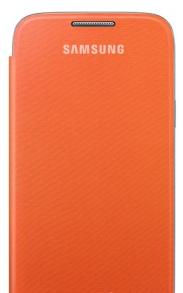 Flip Cover для SAMSUNG GALAXY S4 I9500/ I9505 без окна Orange