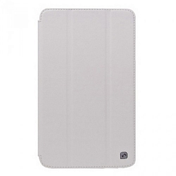 Чехол HOCO Crystal Series Leather Case для Samsung Galaxy Tab3 7.0 T210/T2110 White