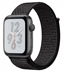 Смарт-часы Apple Watch Nike+ Series 4 GPS 40mm (MU7G2) Space Gray Aluminum Case with Black Nike Sport Loop
