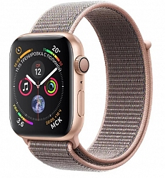 Смарт-часы Apple Watch Series 4 GPS 40mm (MU692) Gold Aluminum Case with Pink Sand Sport Loop