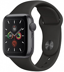 Смарт-часы Apple Watch Series 5 GPS 44mm (MWVF2) Space Gray Aluminum Case with Black Sport Band